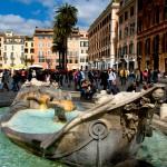 Place d'Espagne à Rome