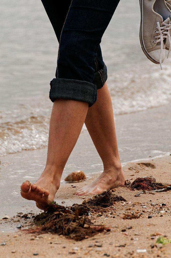 Balade sur la plage des Dames à Noirmoutier