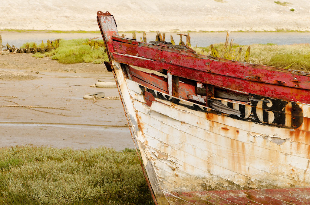 Port de plaisance de Noirmoutier et cimetière des bateaux