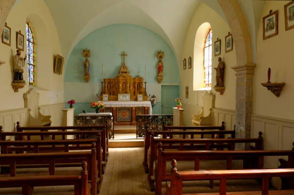 Intérieur de la Chapelle Mijoux