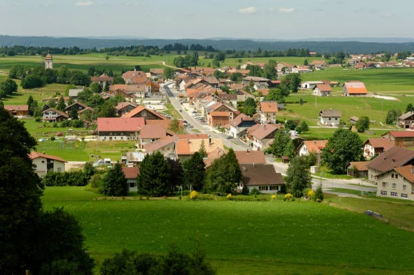 Le village des Fourgs