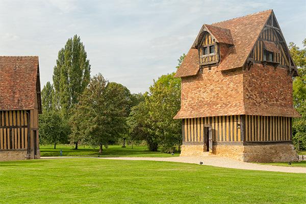 Le pigeonnier du Château de Crèvecoeur-en-Auge