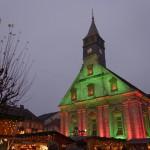 Marché de Noël de Montbéliard : Temple Saint Martin
