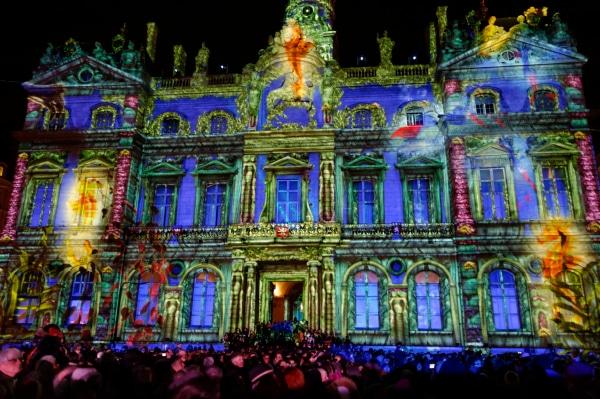 Fête des Lumières à Lyon : la Presqu'île et Saint Jean