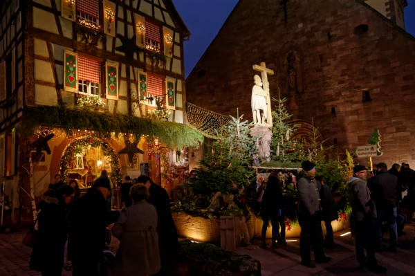 Marché de Noël d'Alsace : Kaysersberg