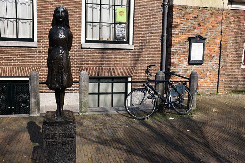 La maison d'Anne Frank à Amsterdam