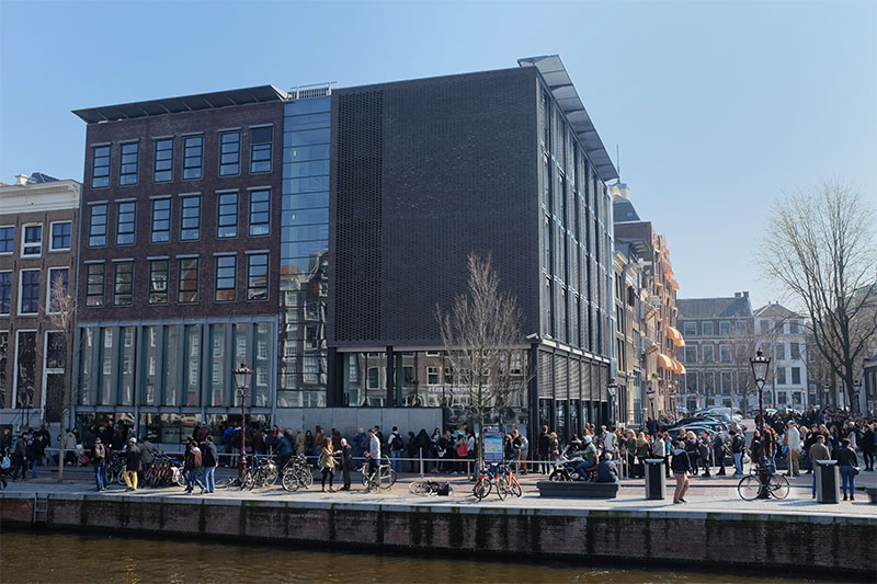 Amsterdam : maison Anne Frank Photo : Nicolas Monnot