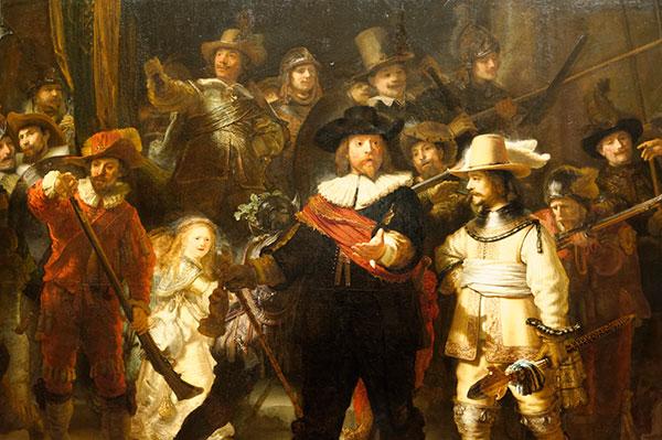 La Ronde de Nuit de Rembrandt