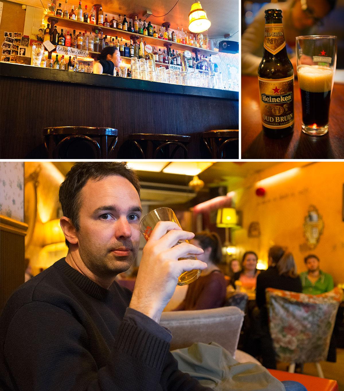 Les cafés bruns : l'art de boire une bière à Amsterdam