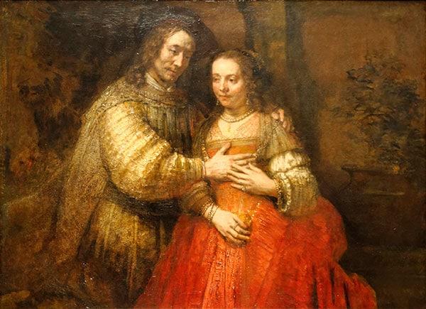 La Fiancée Juive de Rembrandt