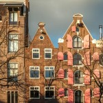 Façades d'Amsterdam