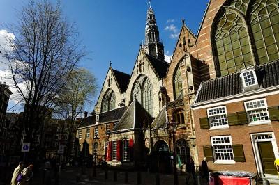 église Oude Kerk à Amsterdam
