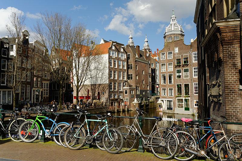 Centre médiéval et Quartier Rouge d'Amsterdam