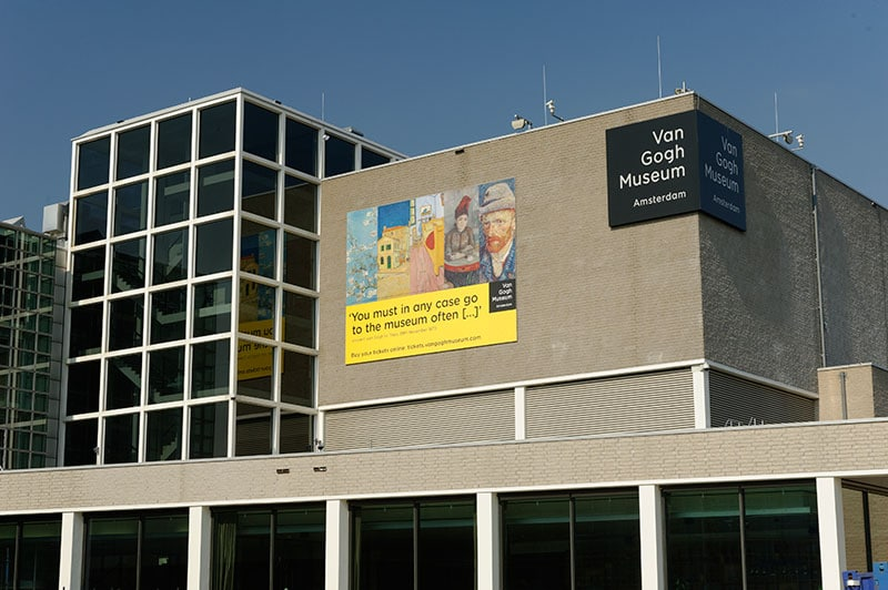 Le Van Gogh Museum à Amsterdam