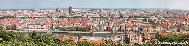 Visit Lyon : Panoramic view