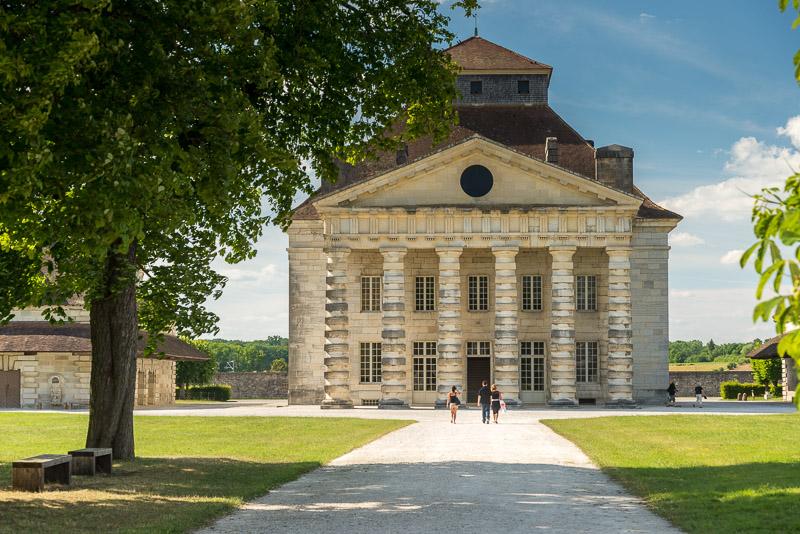 Visite de la Saline Royale d'Arc et Senans