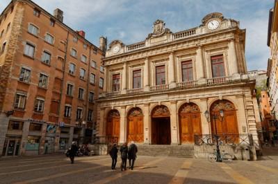 Vieux Lyon : place du Change