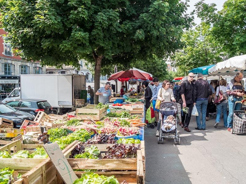 marché Lyon quai Saint Antoine