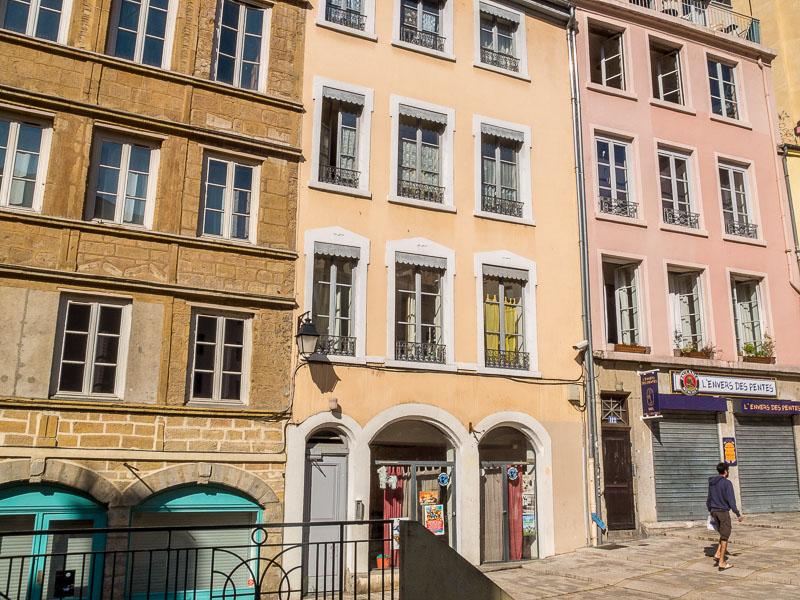 Lyon Croix Rousse : montée de la Grande Côte
