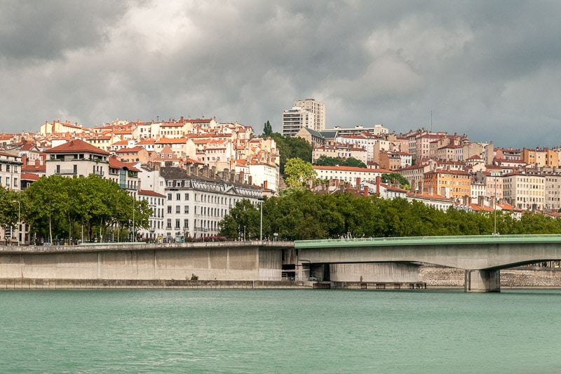 Lyon, vue sur la Croix Rousse