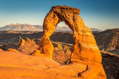 Delicate Arche à Arches National Park
