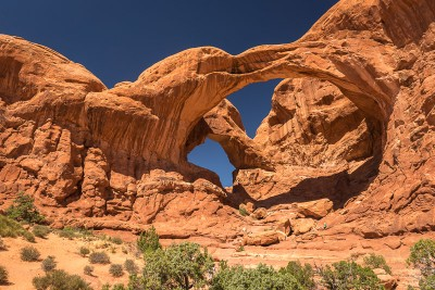 Arches National Park : Double Arch