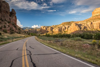 Canyonlands National Park, The Needles : long is the Road