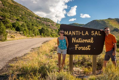 Autour de Moab : La Sal Mountain Loop Road