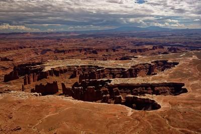 Canyonlands National Park Grand View Overlook