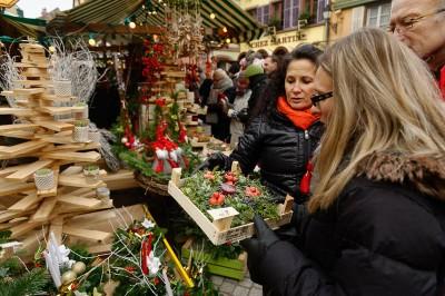 Artisanat au Marché de Noël de Ribeauvillé