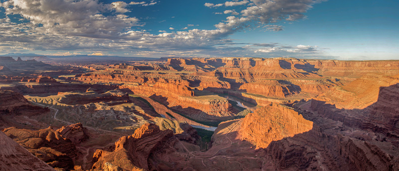 Dead Horse Point State Park at sunrise