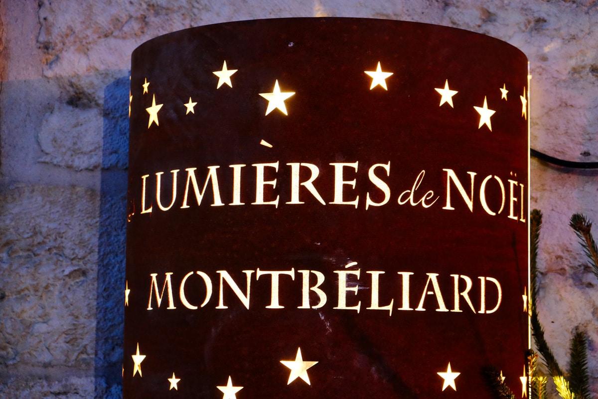 Les Lumière de Noël : marché de Noël de Montbéliard