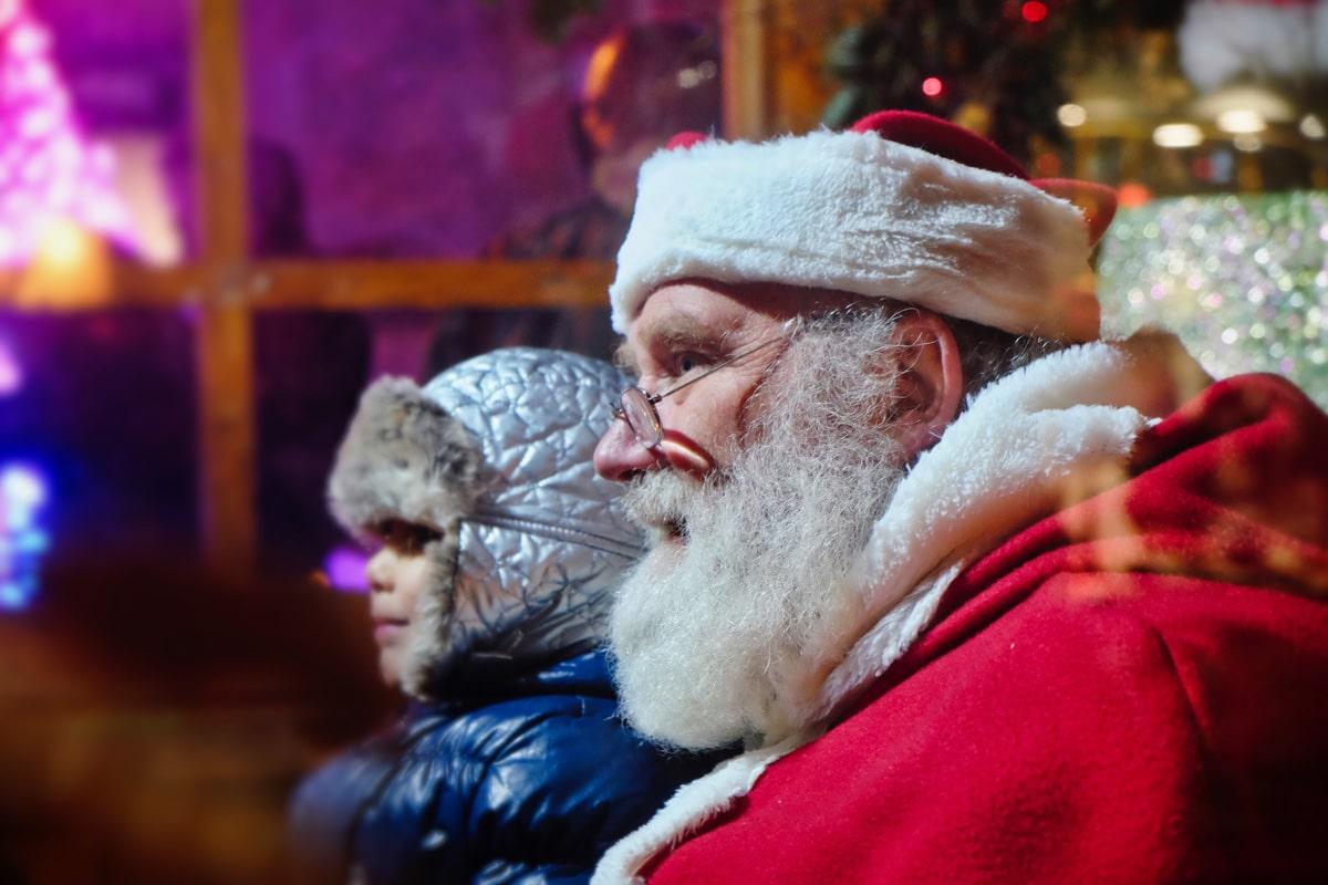 Village des enfants au marché de Noël de Montbéliard