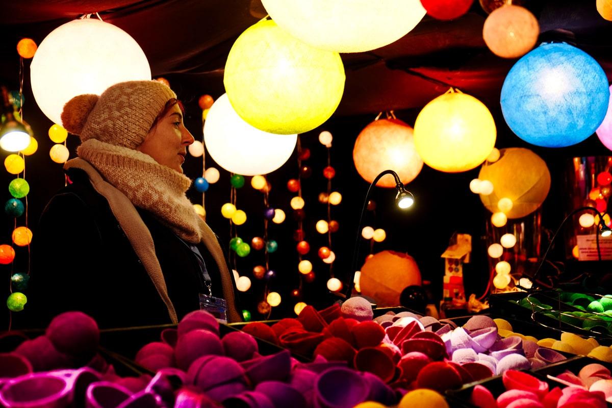 Artisanat au marché de Noël de Montbéliard