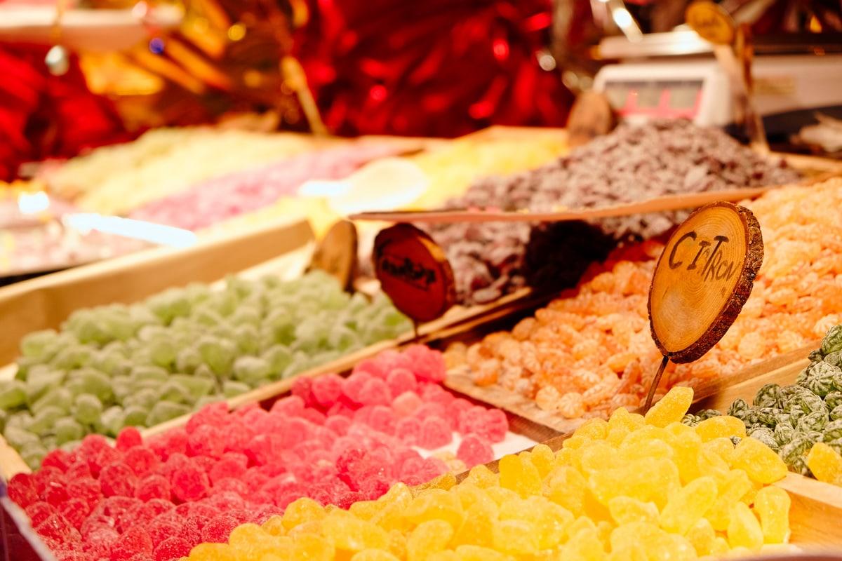 Douceurs sucrées au marché de Noël de Montbéliard