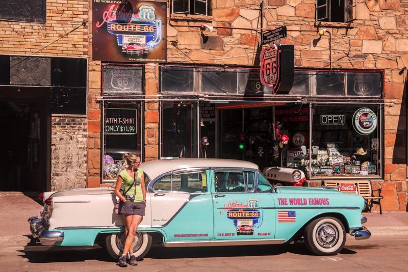 Charme des 50's sur la Route 66, coup de cœur et déception
