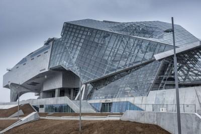 Le musée des confluences  : Un bâtiment futuriste