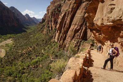 Randonnée à Zion National Park