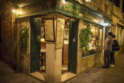 Restaurant à Venise : Osteria San Barnaba