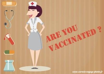 Vérifier ses vaccins avant de partir en voyage