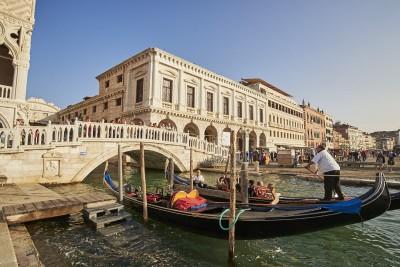 Venise : les gondoles