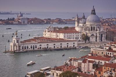 Venise : La Salute et la pointe de la douane