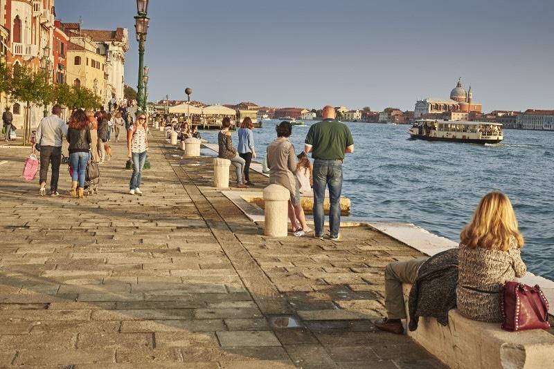 visiter Venise en 5 jours: les zattere