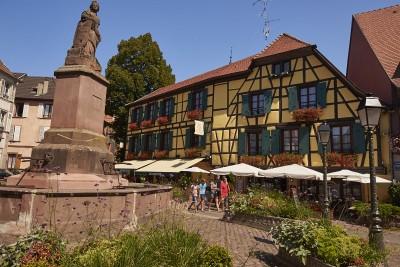 Route des vins d'Alsace : Ribeauvillé, les bonnes tables