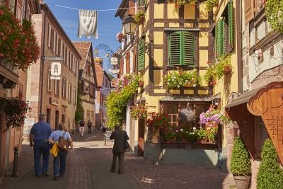 Route des vins d'Alsace : Ribeauvillé