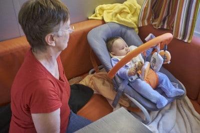 voyager avec un bébé de 3 mois
