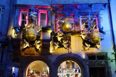 marchŽé de noë'l de Strasbourg : illumination de noël