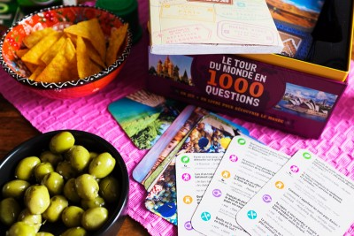 Jeu Lonely Planet : le tour du monde en 1000 questions