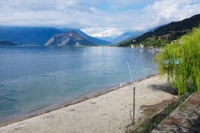 Lac Majeur : Les rives du lac en voiture