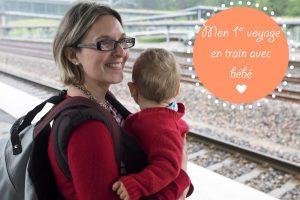 voyager avec bébé en train